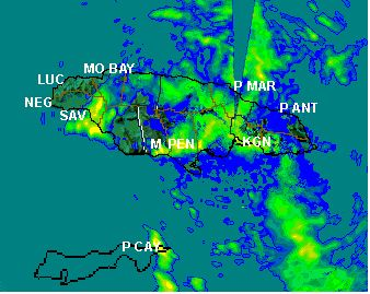 Tropical Depression Ten 2015 - Jamaica Weather Forecast