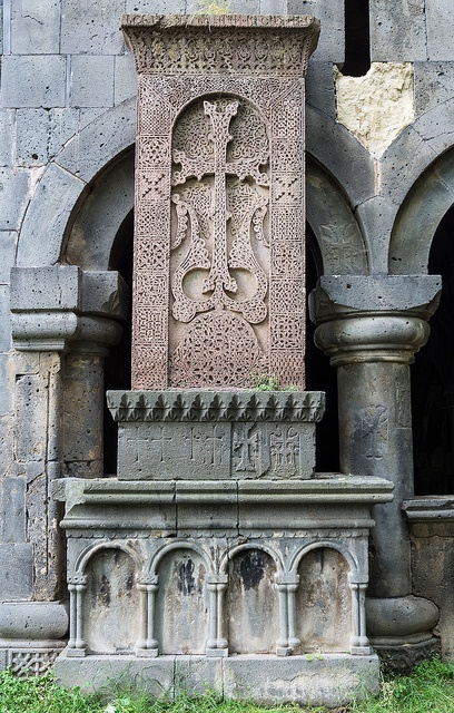 Cross-Stone at Sanahin Monastery by Dr. Harout, via Flickr - Haghpat, Lorri, Armenia