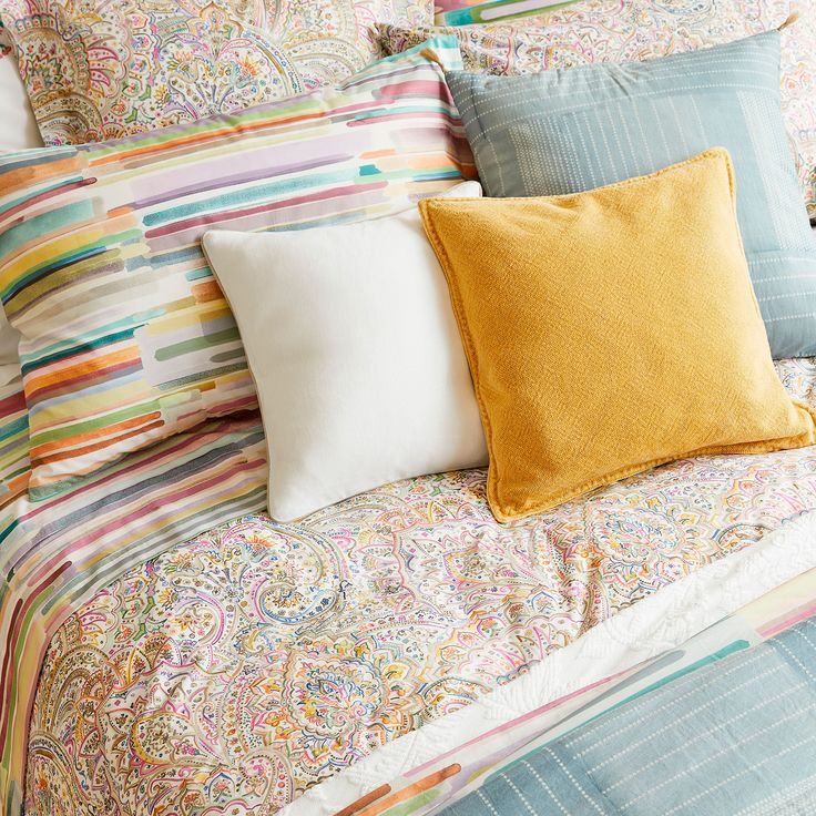 Image 3 of the product Multicoloured paisley print duvet cover
