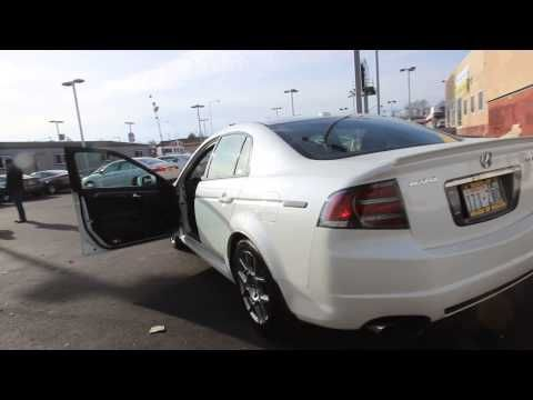 2007 Acura TL Type S Navigation | White | 7A013476 | Seattle | Renton