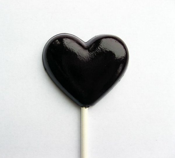 Black Heart Lollipop = LOVE