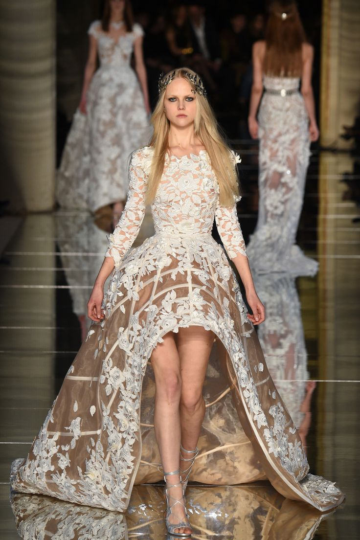 2741 best zuhair murad images on pinterest high fashion for High couture wedding dresses