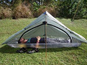 ZPacks.com Ultralight Backpacking Gear - Hexamid Solplex Cuben Fiber Tent