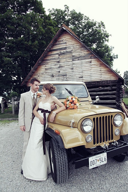 bride/groom transportation Why is this so perfect?! My goodness. @ashangel23