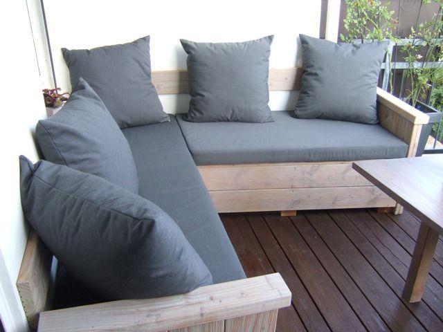 loungepolster loungekissen auflagen f r loungem bel die kissengestalter terrasse pinterest. Black Bedroom Furniture Sets. Home Design Ideas