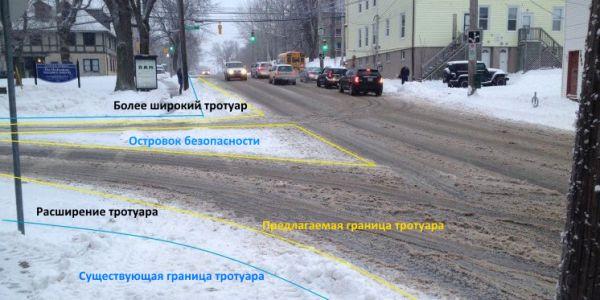 Как снегопады учат правильно организовывать дорожное движение - блог о транспорте и жизни