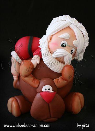 *SUGAR ART ~ Ding Dong Dang, la navidad se acerca YA! by Dulce decoración (modelado - tartas decoradas