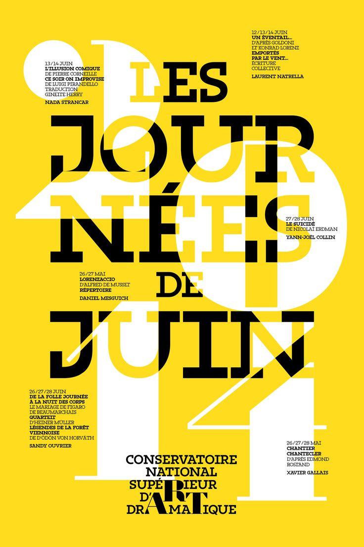 Des Signes - Conservatoire d'Art dramatique / Les journées de juin