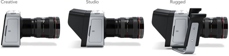 Black Magic Cinema Camera. Også et nytt og spennende kamera. Tøff design!