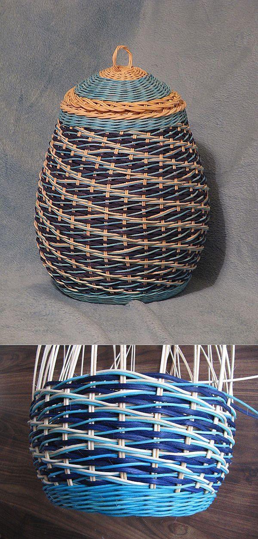 Обалденный Узор!!!! Плетение из газет | плетение из газетных трубочек | Постила