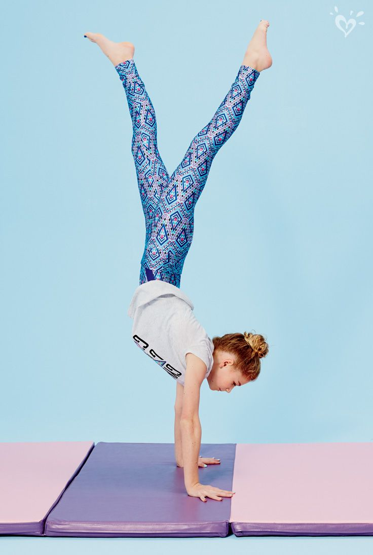 Youu2019ll totally flip for our super stretchy gymastics leggings and made-to-match tees. | Play ...