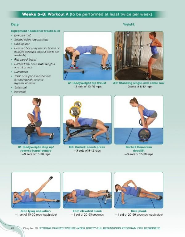strong curves workout plan - Google Search