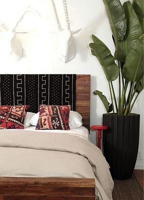 Decorate With Mudcloth by AphroChic, via Flickr