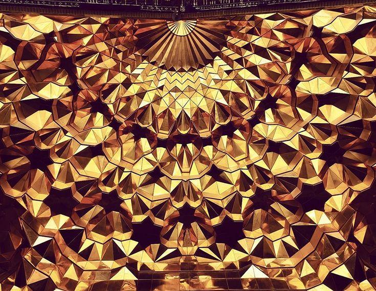 Les Plafonds étonnants de l'Architecture iranienne (11)
