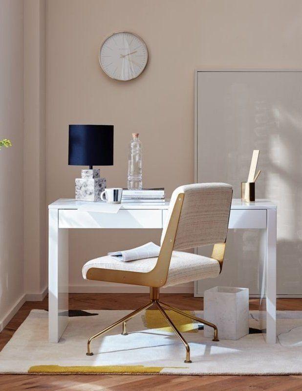 Rue Cambon Cream Office Chair Reviews Cb2 White Lacquer Desk Home Decor Square Table Lamp