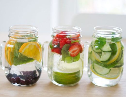 infused-water-orange-blueberry