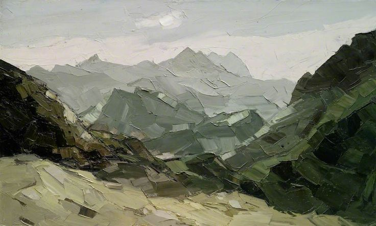 Sir Kyffin Williams - Snowdon Range