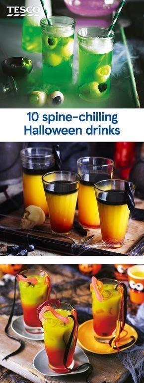 10 gruselige Halloween-Drinks