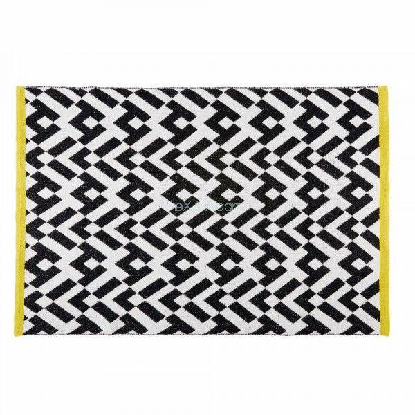 Ковер 140x200cm WILD черно-белый 167875 Maisons 2017