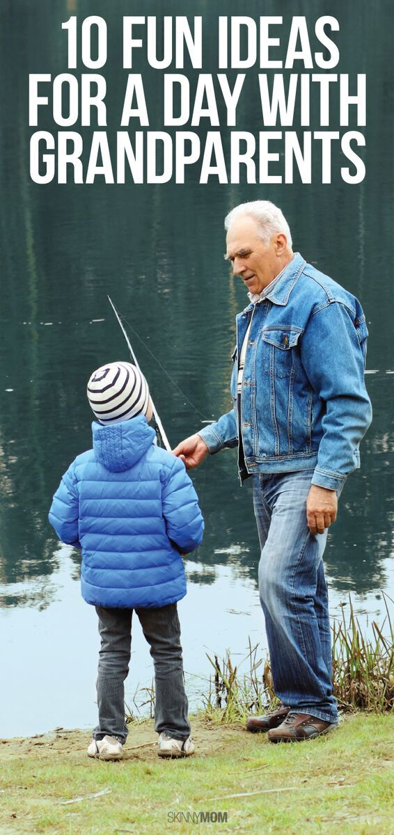 10 activities kids love doing with their grandparents!