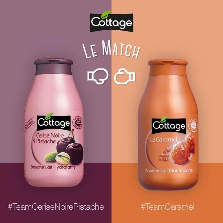 Êtes-vous plutôt #TeamCeriseNoirePistache ou #TeamCaramel ? Qu'est-ce qui selon vous départage tellement ces deux parfums ? Soutenez votre team dans les commentaires !