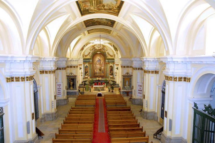 Interior de la Iglesia Parroquial de Ntra. Sra. de la Asunción de Valdemoro. S. XVII