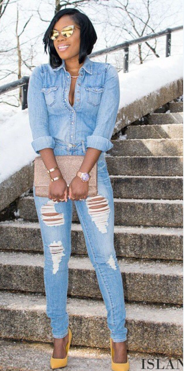 Yes indeed... The look denim on denim