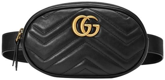 0f64f9797aee Gucci Marmont Gg Matelassé Belt Black Leather Cross Body Bag. Get the  trendiest Cross Body Bag of the season! The Gucci Marmont Gg Matelass Belt  Black ...