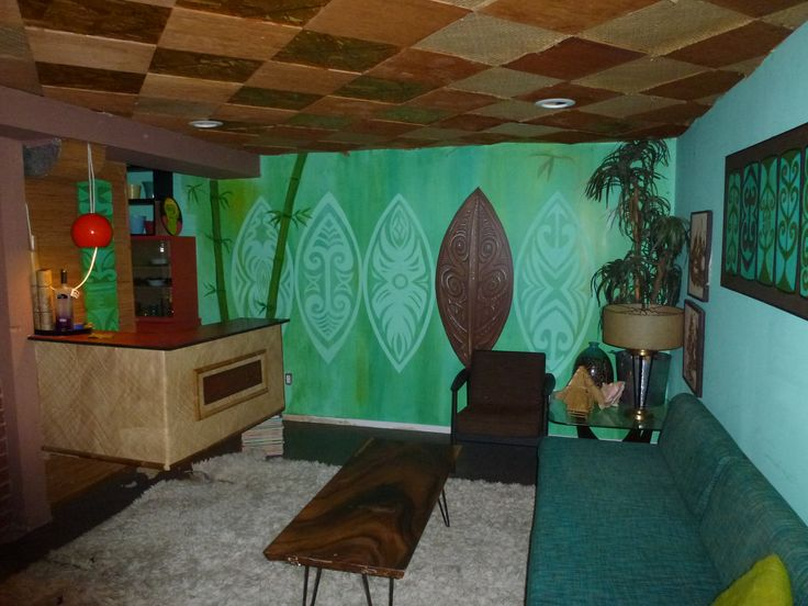 Man Cave Tiki Bar : Best images about tiki porch on pinterest cove home