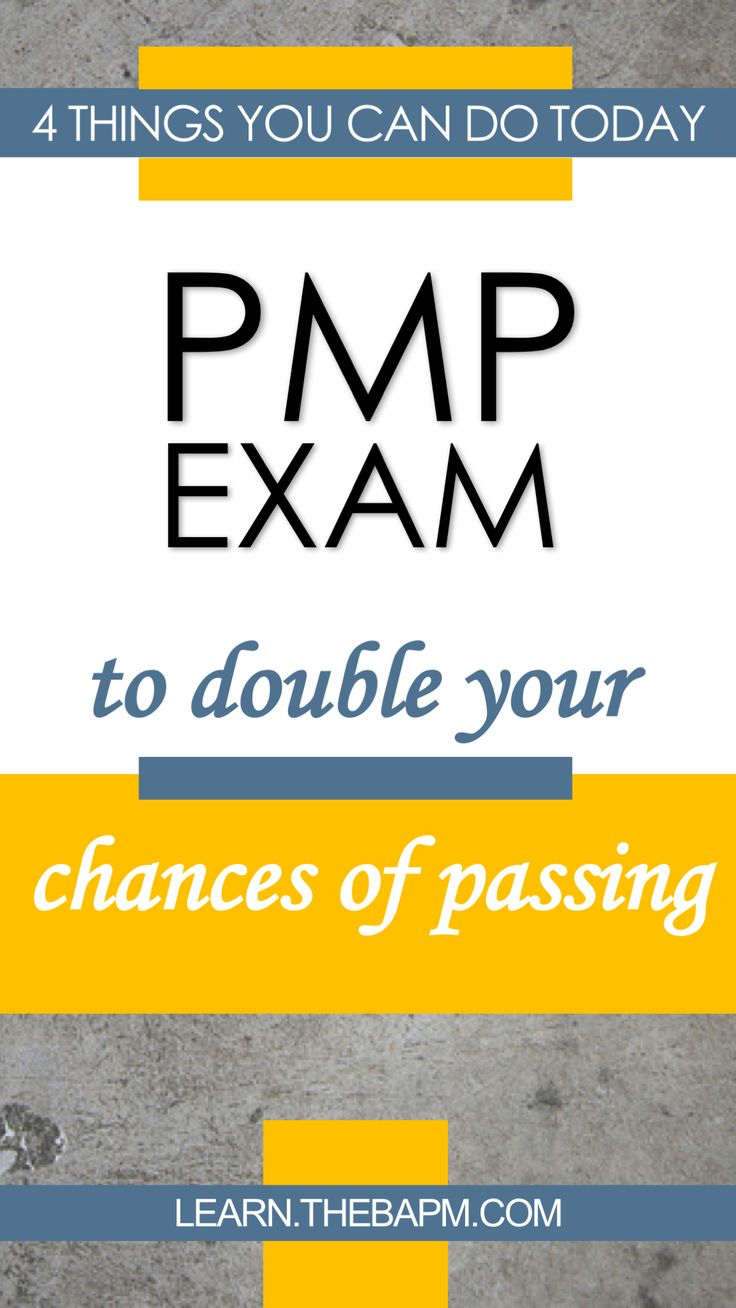 Your Chances of Passing the PMP  Exam - Read the post via http://thebapm.com/4-things-can-today-double-chances-passing-pmp-exam/