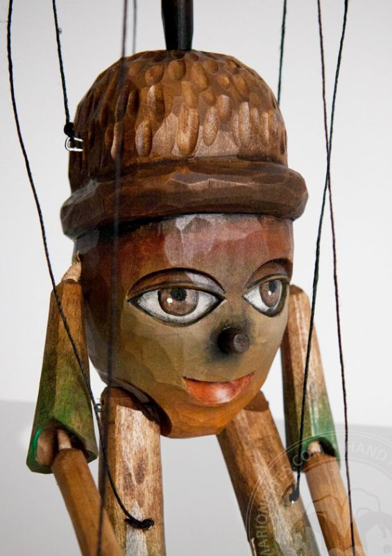 Chiff Chaff - wooden puppet
