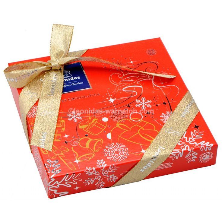 Coffret spécial Noël de 16 chocolats Leonidas - La boutique aux chocolats