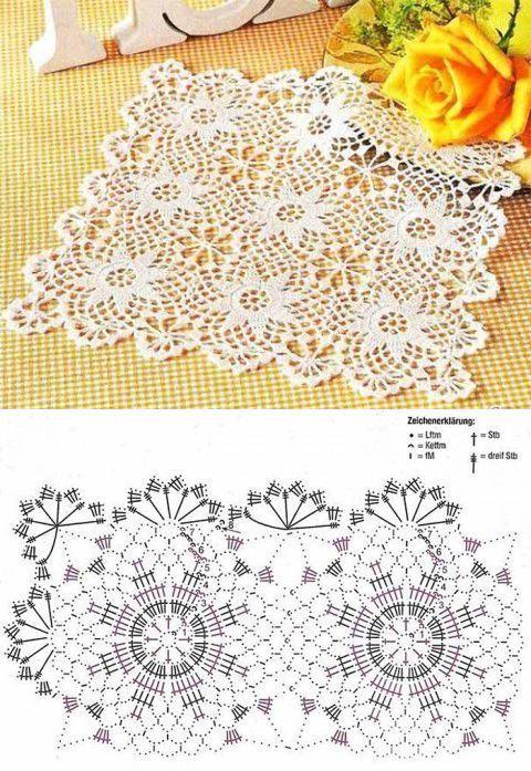 Kira scheme crochet: Scheme crochet no. 2068