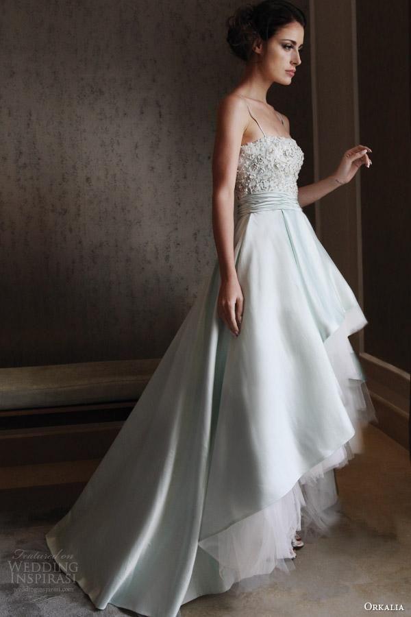 Black Wedding Dresses Luxury Pearls A Line Wedding Dresses Beads Spaghetti Straps Sleeveless Hi Lo Sweep Train Bridal Gown Wedding Gowns Wedding Dresses From Dresstop, $130.84| Dhgate.Com