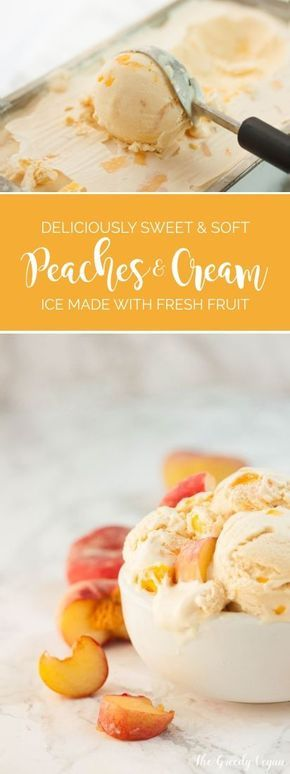 Peaches and cream is a classic for very good reasons. It's a dessert that's incredibly simple but nonetheless scrumptious. Here's my take on this classic.