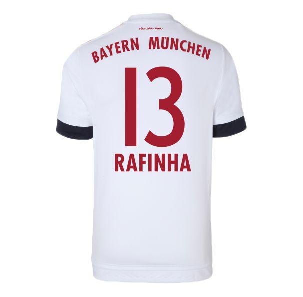 2015-16 Bayern Munich Away Shirt (Rafinha 13) #Sport #Football #Rugby #IceHockey