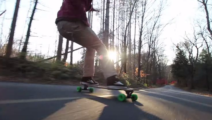 Inspired by longboard adventures, the Apex. Rider: Will Stephan