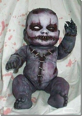Autopsy doll - I have one similar to this that I hold on my lap during Trick'R Treat ~j
