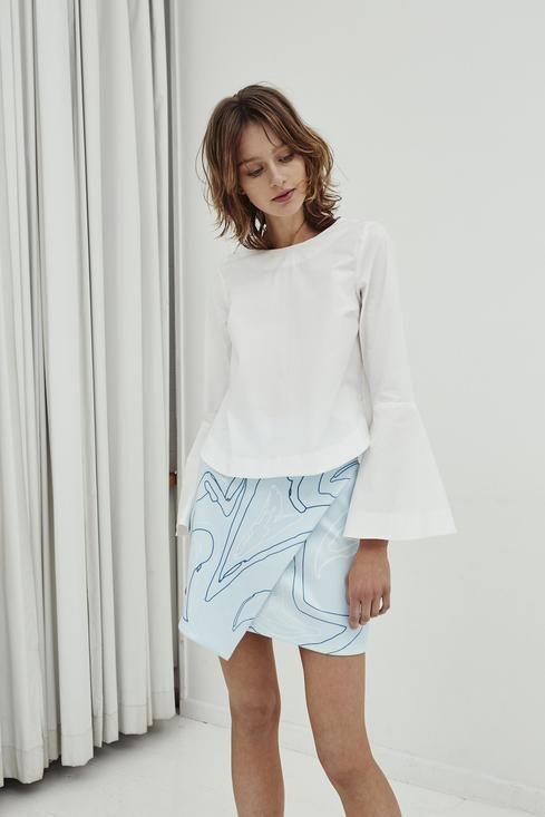 Jillian Boustred / Bell Shirt - Akagu