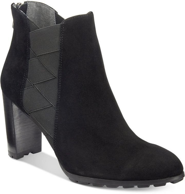 Adrienne Vittadini Trinie Booties Women's Shoes