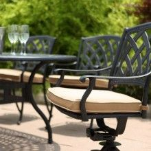 Cast Aluminum Patio Furniture By Beka   Mirage Dining Set   Sheridan  Nurseries