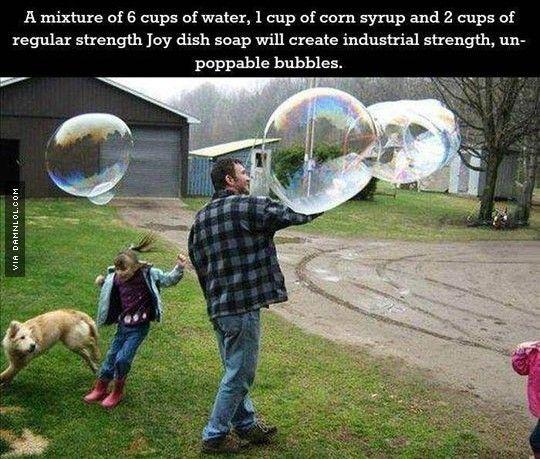 Unpoppable Bubbles