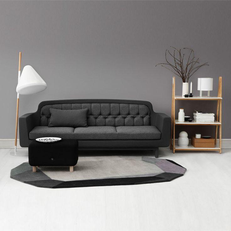 Normann Copenhagen Onkel Sofa 3 Seater | Houseology