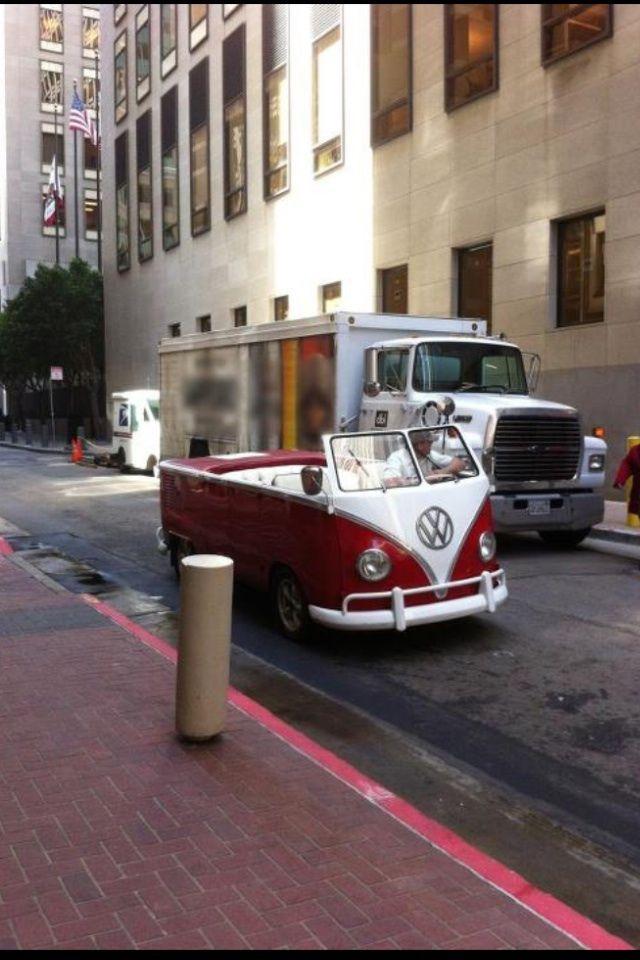 convertible VW van haha!