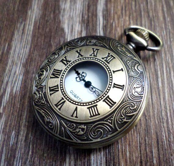 Sale of the Week Antique Bronze Quartz door PocketwatchEmporium