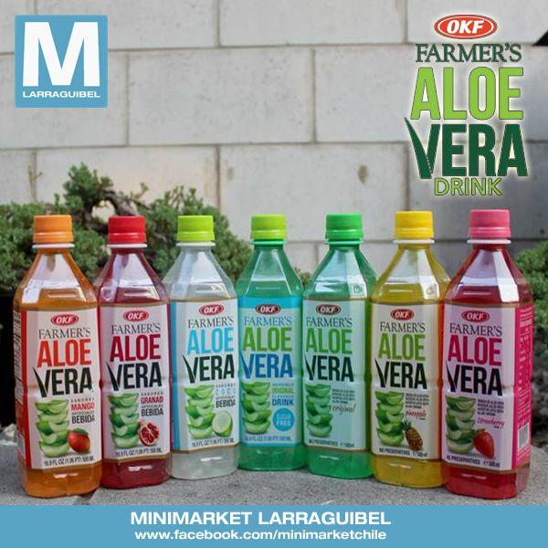 ALOE VERA OKF Libre de Sellos  Bebida de Aloe Vera marca Nº 1 del mundo