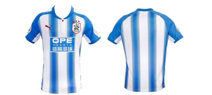 Camisas do Huddersfield Town 2017-2018 Puma | Mantos do Futebol Camisas de Futebol