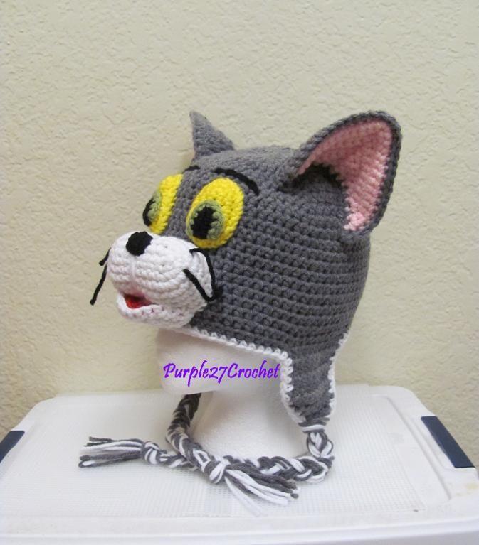 Crocheting: Crochet Tom the Cat