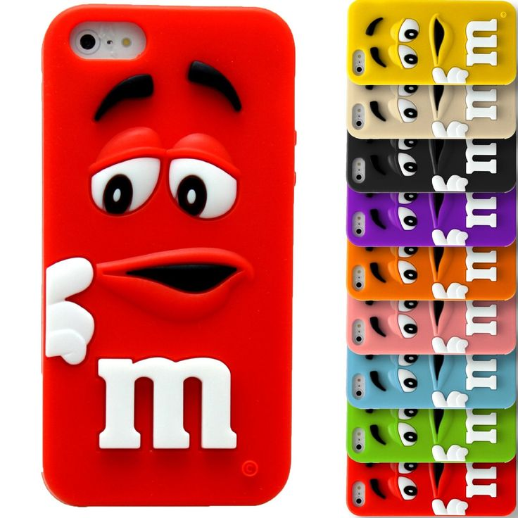 Soft Silicone 3D M&M Bean Chocolate Candy MM Case Cover For Apple iPod Touch 4 (Pink): Amazon.co.uk: Electronics