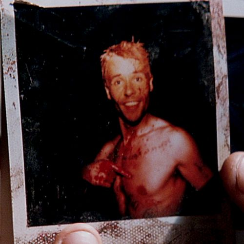 Memento (2000), directed by Christopher Nolan.  ***  Leonard Shelby: I have to believe in a world outside my own mind. I have to believe that my actions still have meaning, even if I can't remember them. I have to believe that when my eyes are closed, the world's still there. Do I believe the world's still there? Is it still out there?... Yeah. We all need mirrors to remind ourselves who we are. I'm no different.